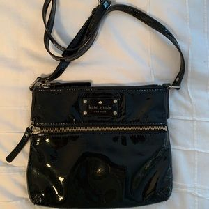 Kate Spade patent leather crossbody bag